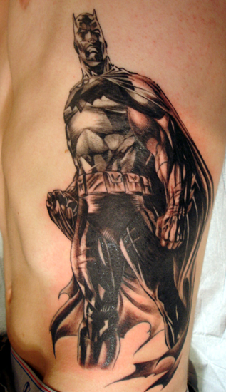 Tattoos Comic Book batman