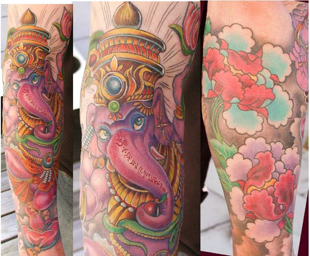 ganesha tattoo. Ganesha