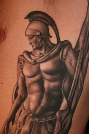 saint florian detail by tim harris tattoonow