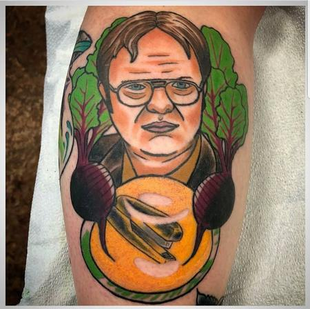 Tattoos - Dwight - 135100