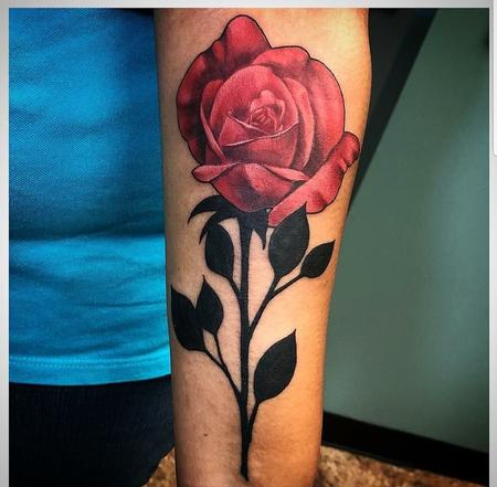 Tattoos - Rose//Stem - 135106