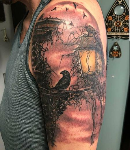Tattoos - The Raven - 135089