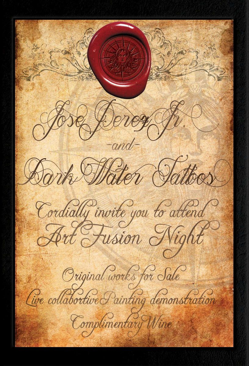 Dark Water Tattoos Art Fusion Night