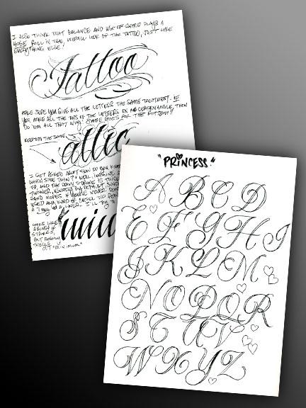 bj betts lettering guide