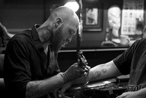 Bradon Roberts tattoo artist