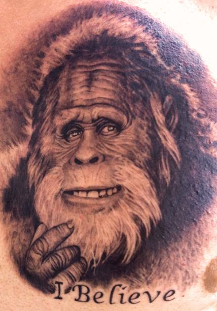 Harry and the hendersons tattoo