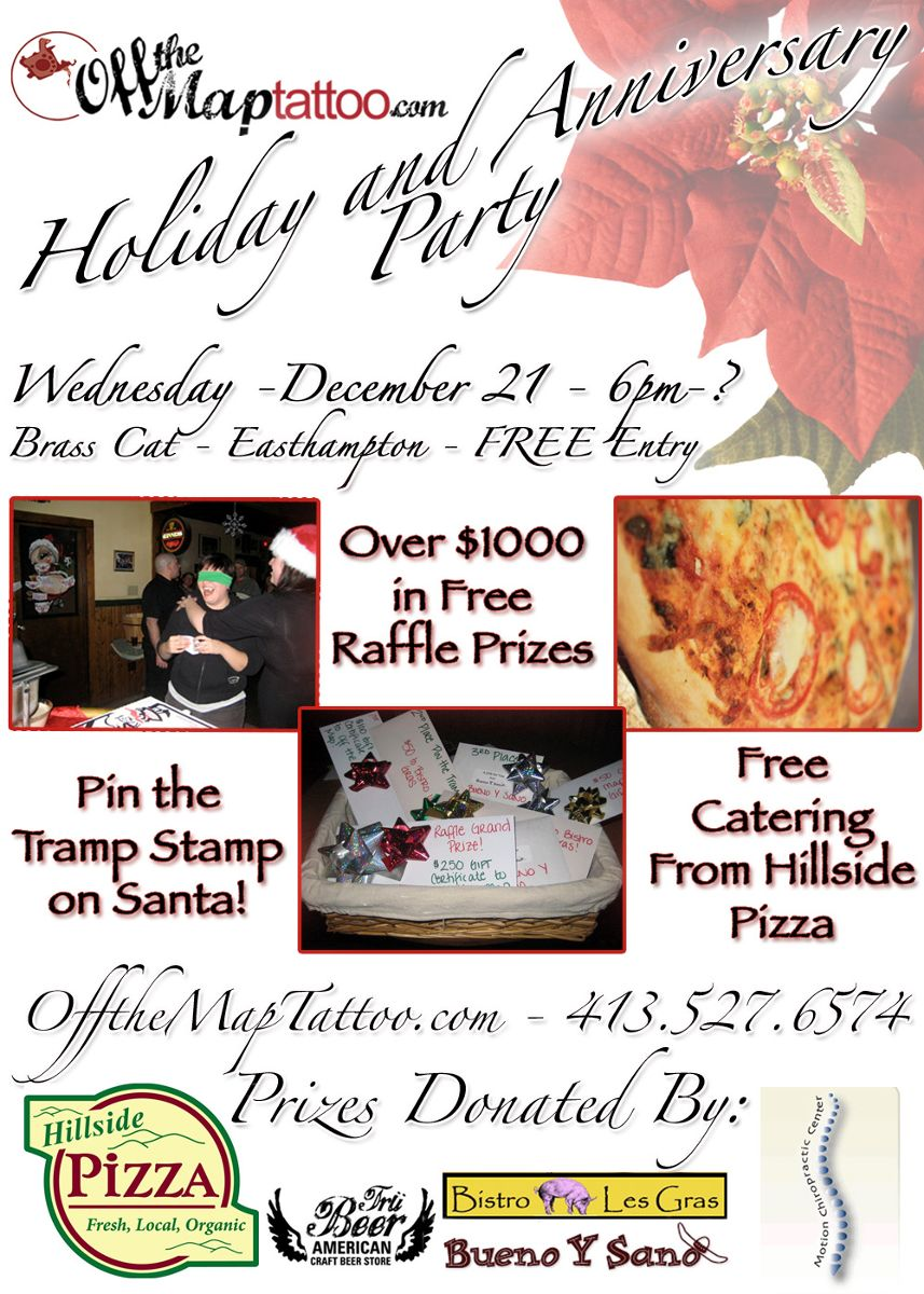 Off the map tattoo holiday party one week from today xflitez Image collections
