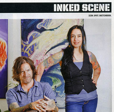 Hyperspace Tattoo Magazine coverage