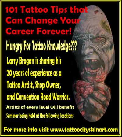 larry brogan 101 tattoo tips