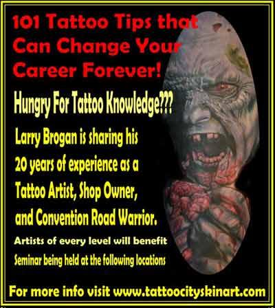 larry brogan 101 tattoo tips