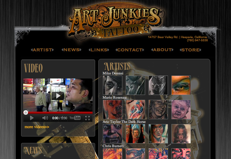 Art Junkies Tattoo Studio