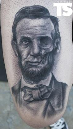 abraham lincoln tattoo art junkies tattoo studio