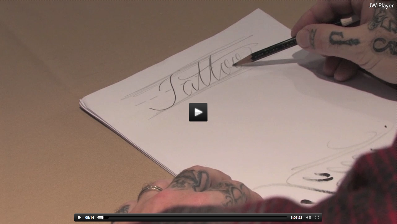 BJ Betts lettering seminar on demand