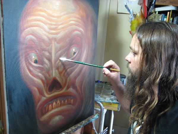 Chet Zar painting seminar