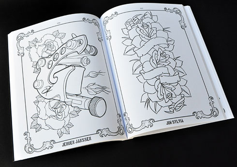 the coloring book project mike devries