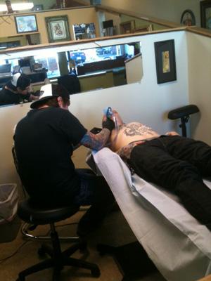 Dave Barton Tattoos