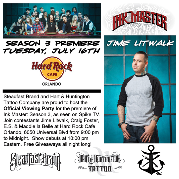 Ink Master Party
