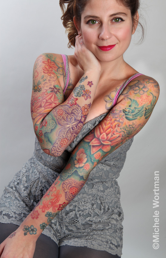 michele wortman tattoos