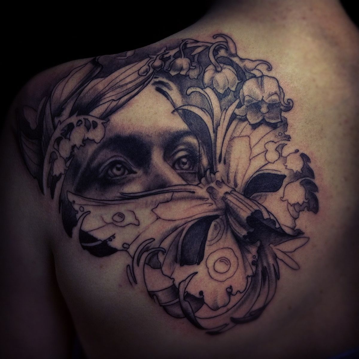 First of the year maximilian tattoo for Face mask tattoo