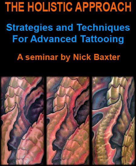nick baxter tattoo seminar