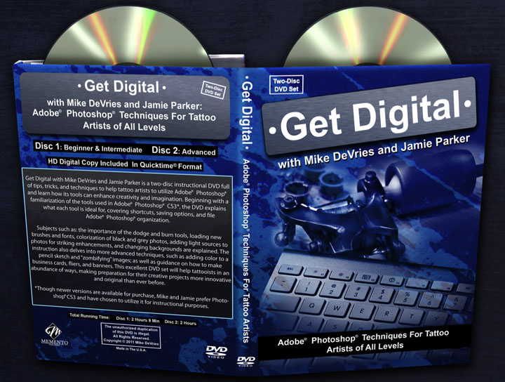 photoshop for tattooers dvd