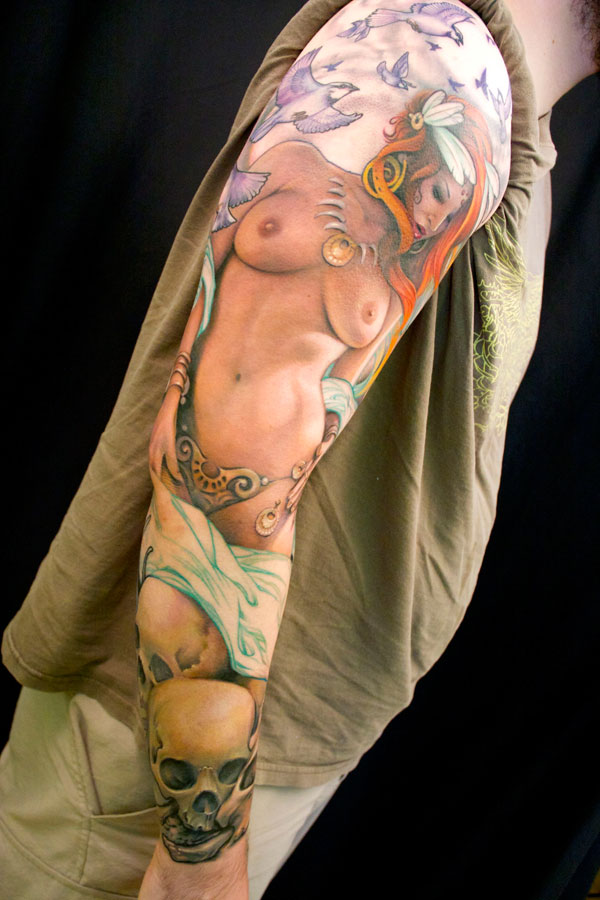 Tattoo nude pin up, triple sex photo download