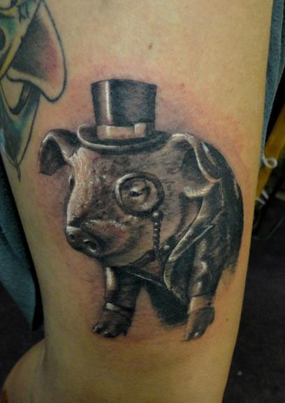 Ian McKown Tattoo
