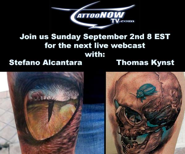 TattooNOWTV with Stefano and Kynst!