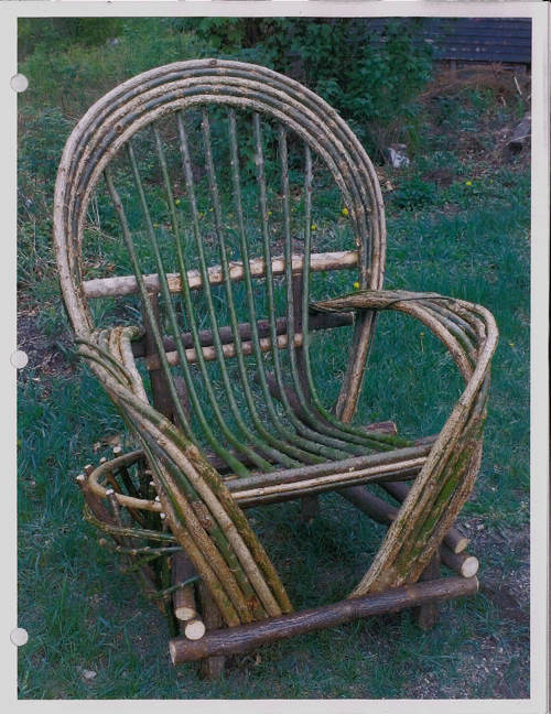 Custom Rustic Furniture By Don Mcaulay Bent Willow Rocking Chair