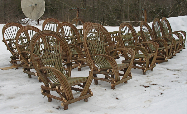We Have Made Over 300 Bent Willow Chairs And Love Seats Since 1991.
