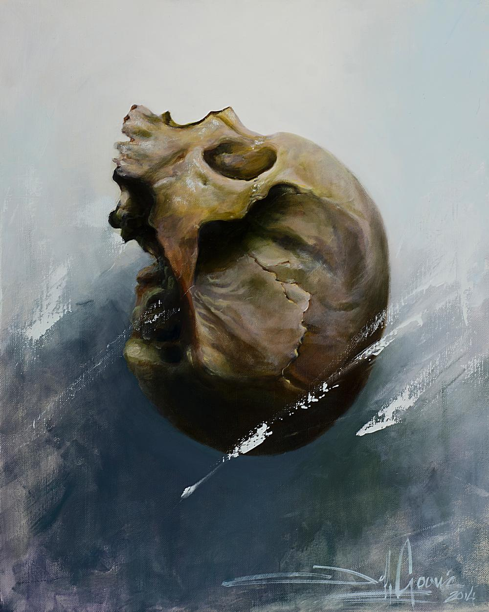 Jeff Gogue - floating skull