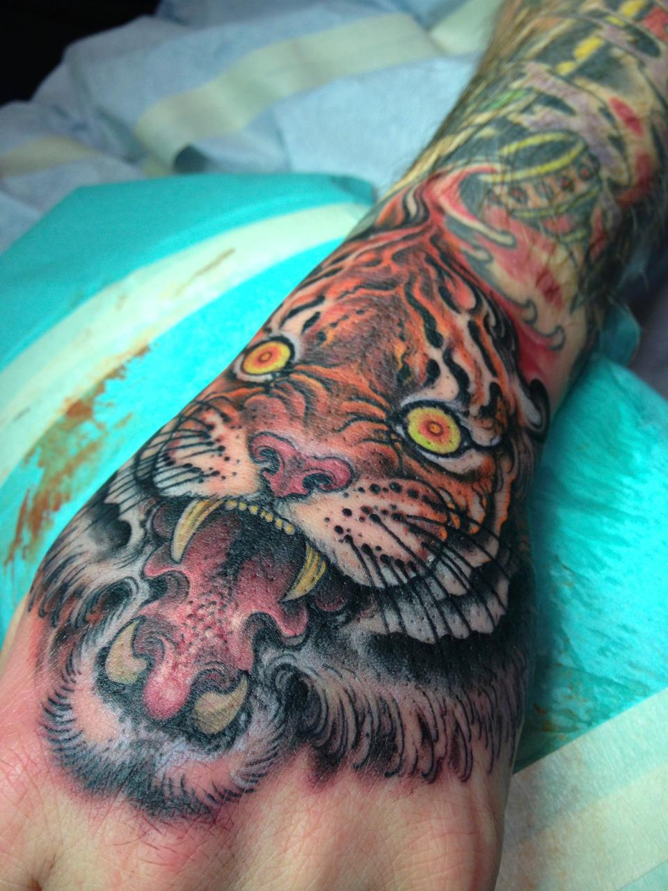 Tattoos - tiger - 114619