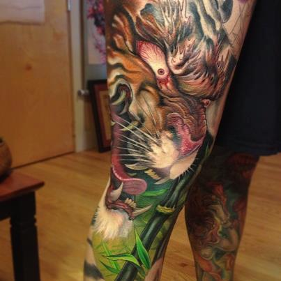 Tiger Tattoo Jeff Gogue