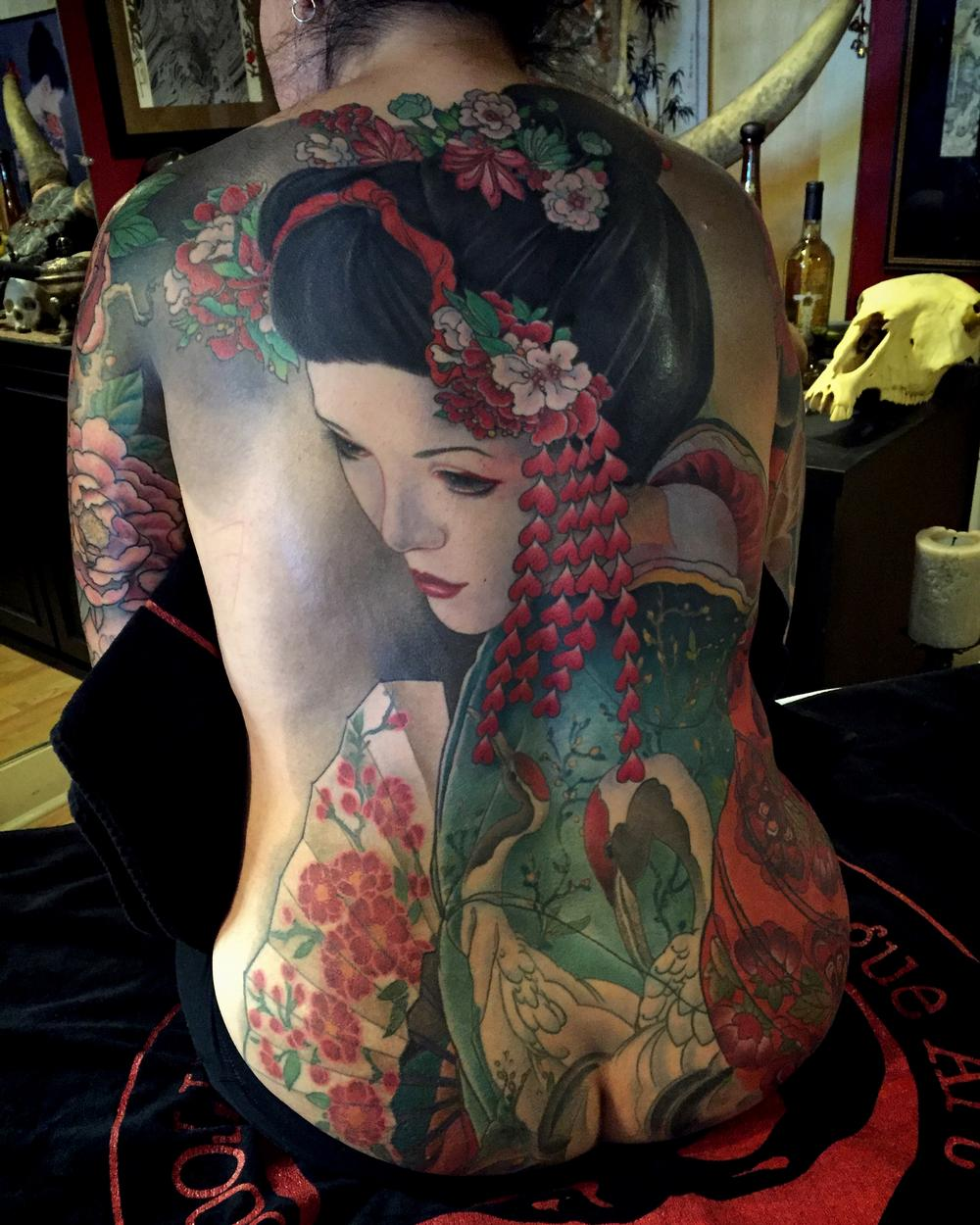Tattoos - Geisha  - 119561