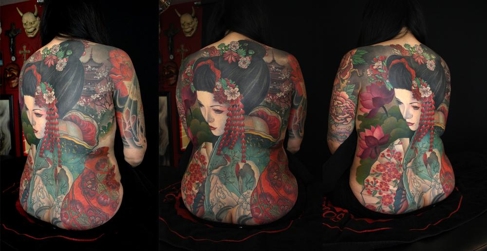 Looking for unique  Tattoos? Geisha