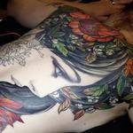 nature goddess  Tattoo Design Thumbnail