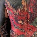 Red Dragon Tattoo Design Thumbnail