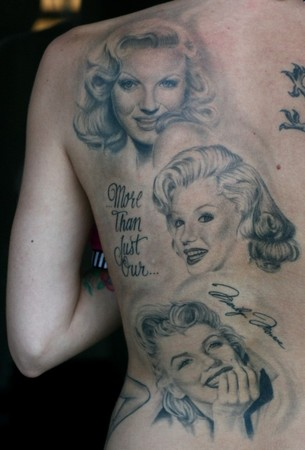 Jesso - Marilyn Monroe Back Peice