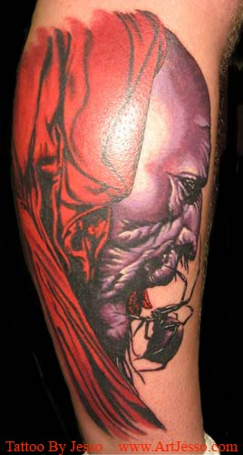 dark tattoos. Dark Tower Crimson King
