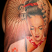 Tattoos - Geisha Umbrella - 33362