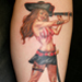 Tattoos - pirate pin up - 29596