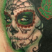 Tattoos - Sylvia Ji painting green - 33354