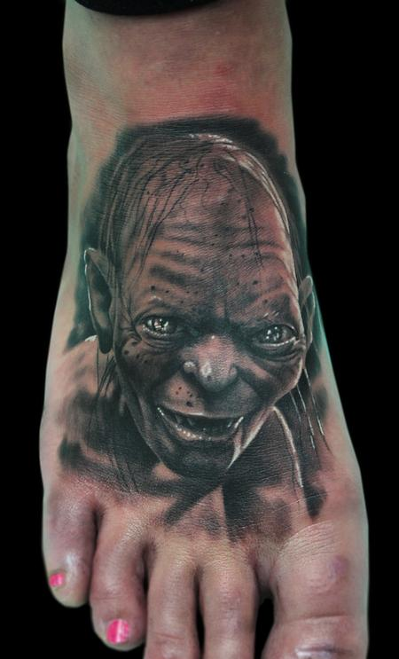Tattoos - GOLLUM - 101535