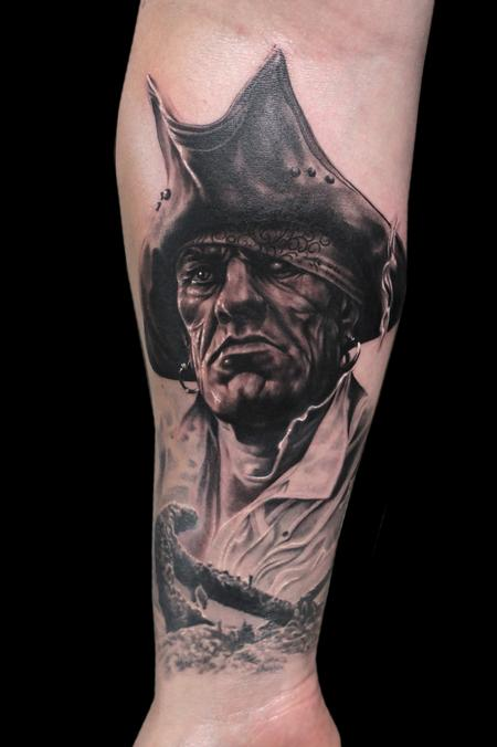 Tattoos - PIRATE - 101327