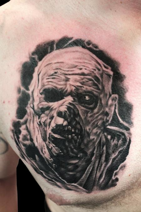Tattoos - CREEPY MUMMY - 101483