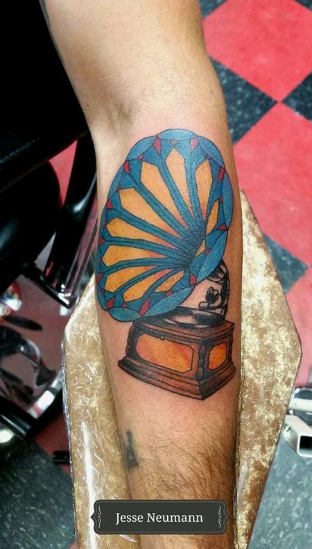 Tattoos - Phonograph Tattoo - 121912