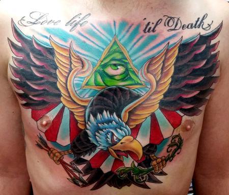 Tattoos - American Eagle Tattoo - 116903