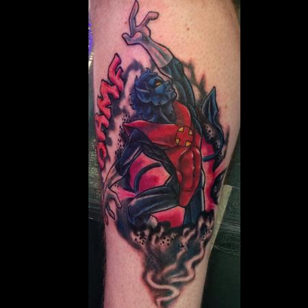 Tattoos - Nightcrawler X-men tattoo - 116091