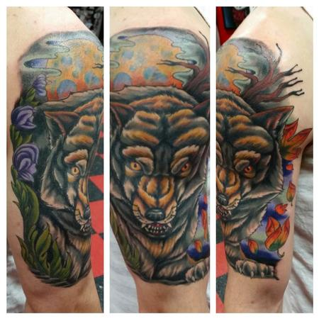 Tattoos - Wolf Tattoo - 104849
