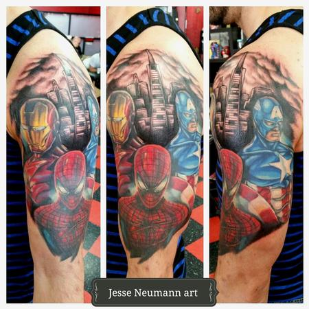 Tattoos - Marvel Civil War Tattoo - 104850